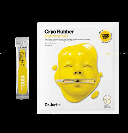 Альгинатная маска с витамином С Dr. Jart Cryo Rubber