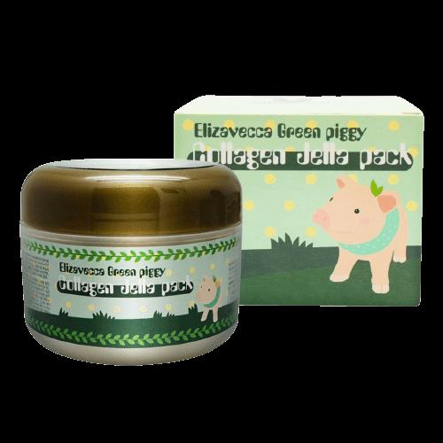 Маска для лица коллагеновая Elizavecca Green Piggy Collagen