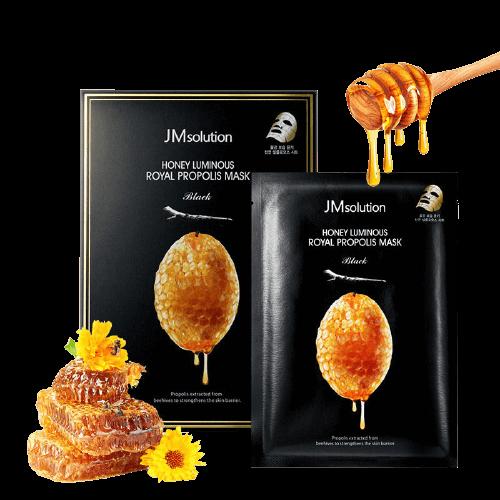 Маска с прополисом JMsolution Honey Luminous Royal Propolis