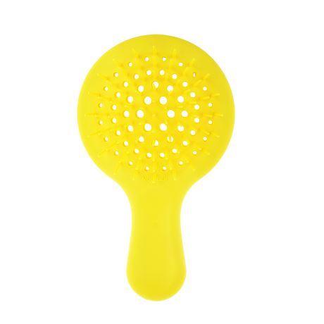 Расческа для волос Janeke Superbrush Mini, ярко-желтая